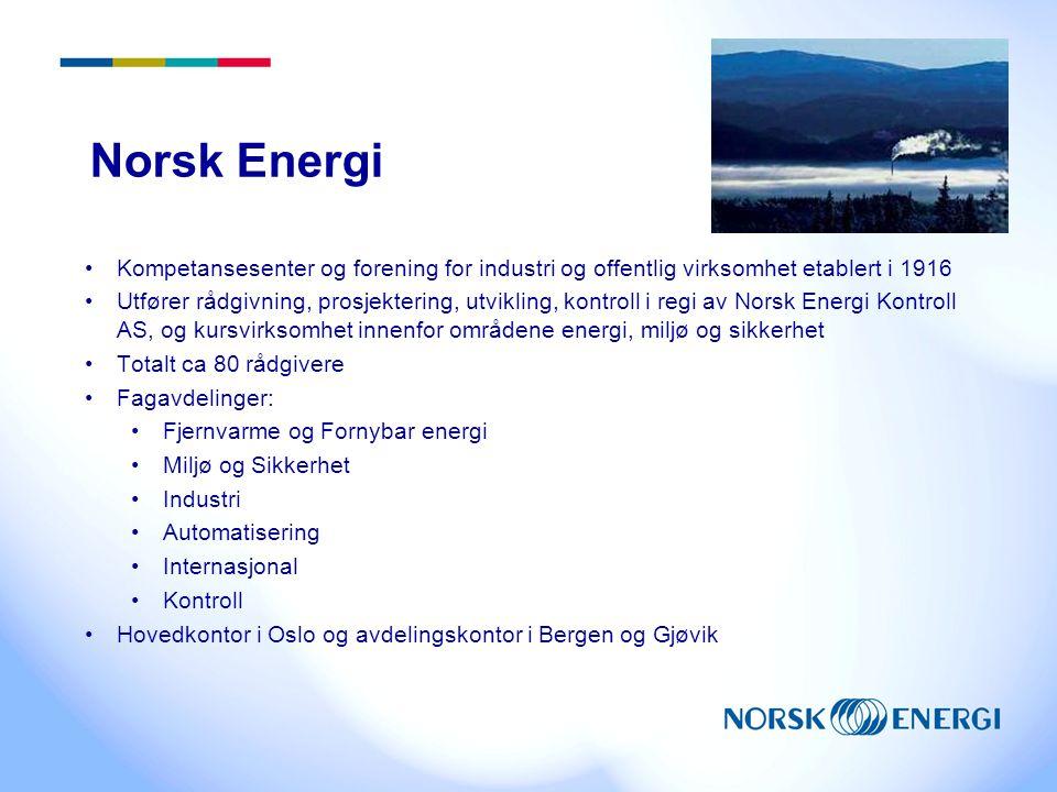 Norsk Energi Kompetansesenter og forening for industri og offentlig virksomhet etablert i 1916.