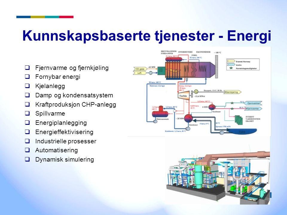Kunnskapsbaserte tjenester - Energi