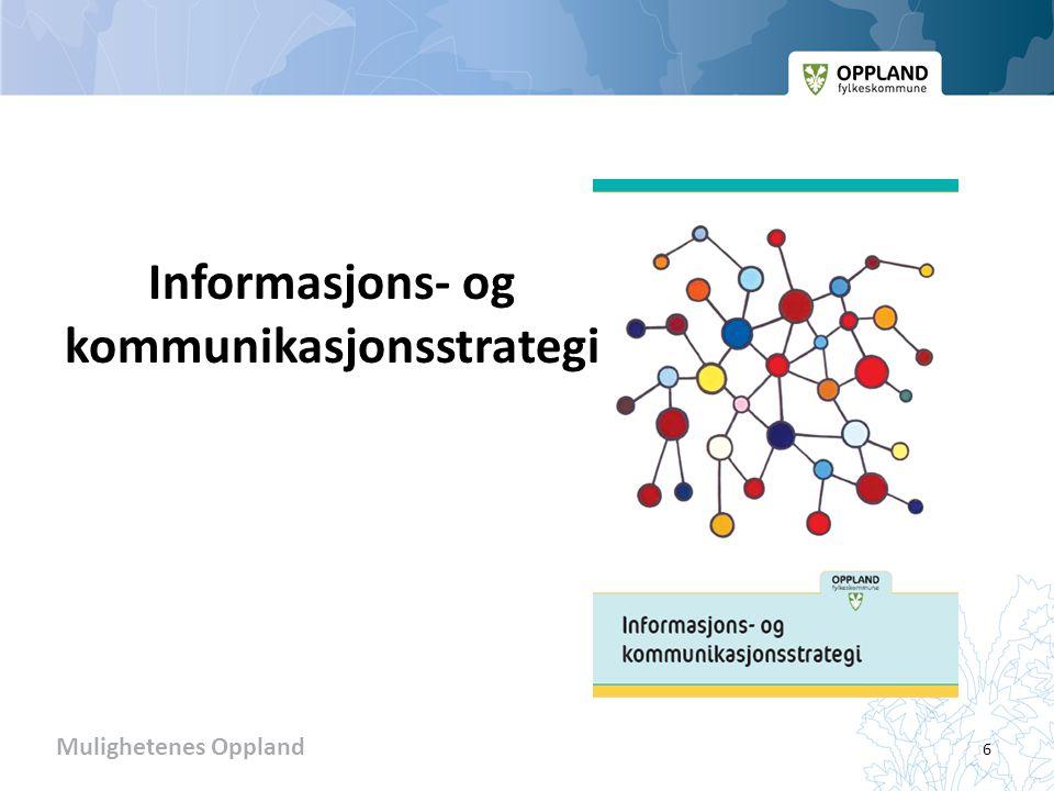 Informasjons- og kommunikasjonsstrategi