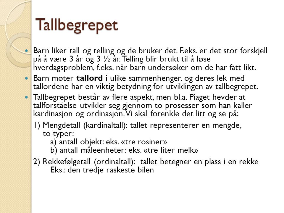 Tom Rune Kongelf Tallbegrepet.