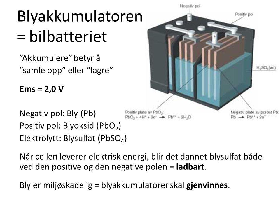 Blyakkumulatoren = bilbatteriet