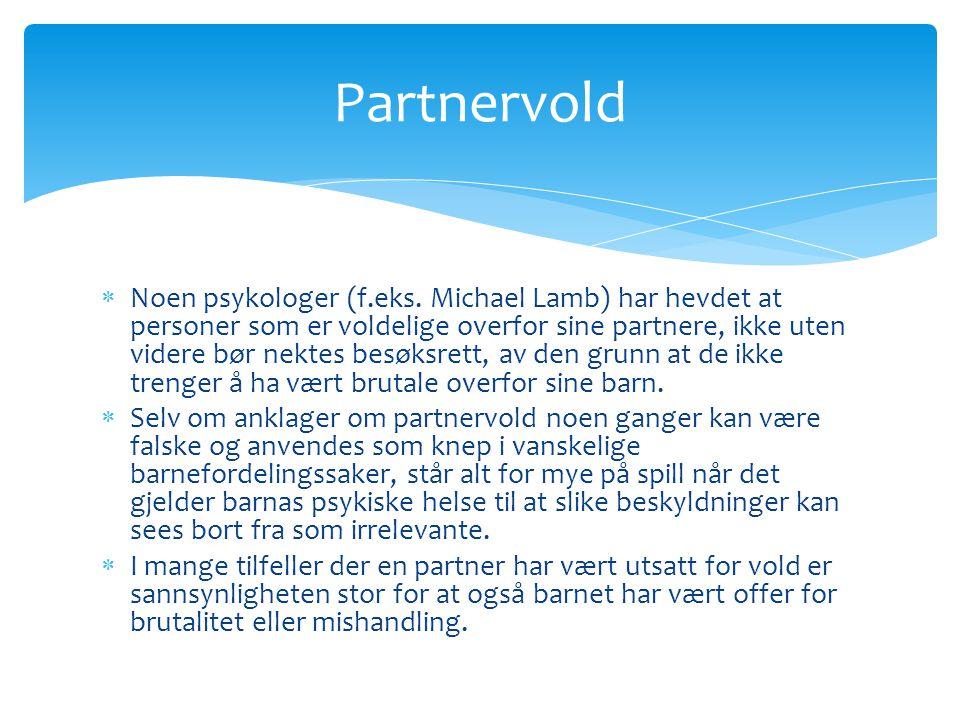 Partnervold