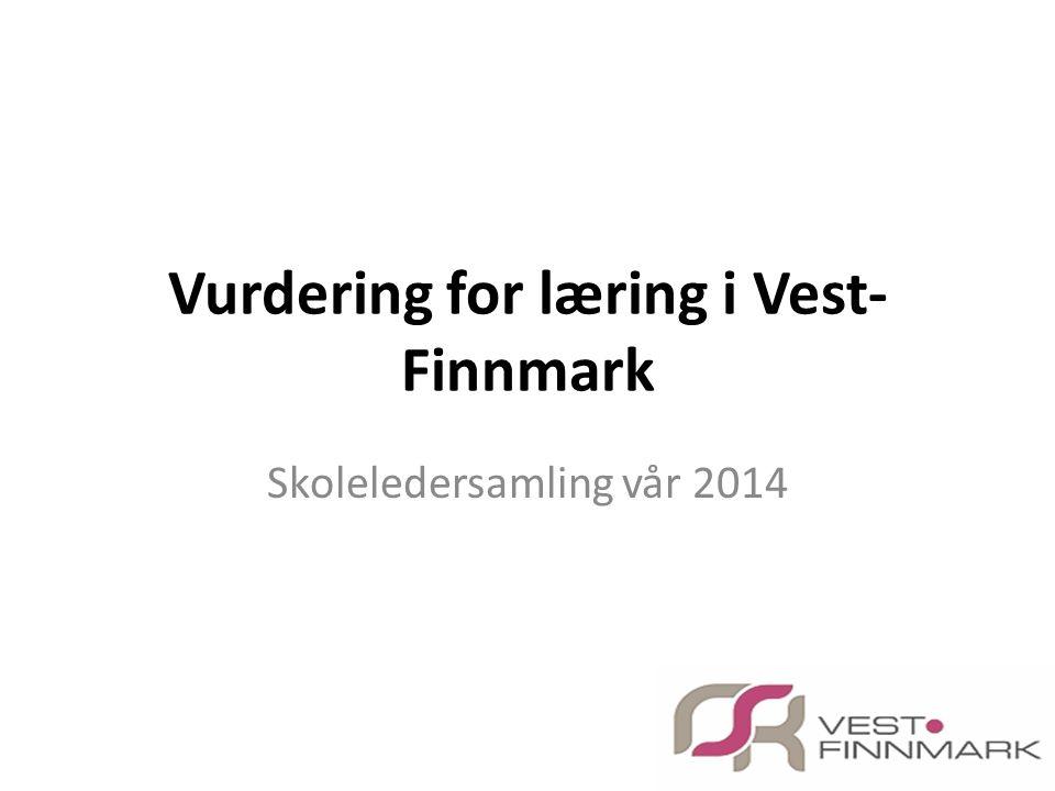 Vurdering for læring i Vest-Finnmark