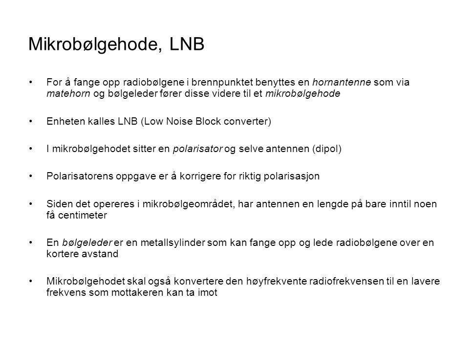 Mikrobølgehode, LNB