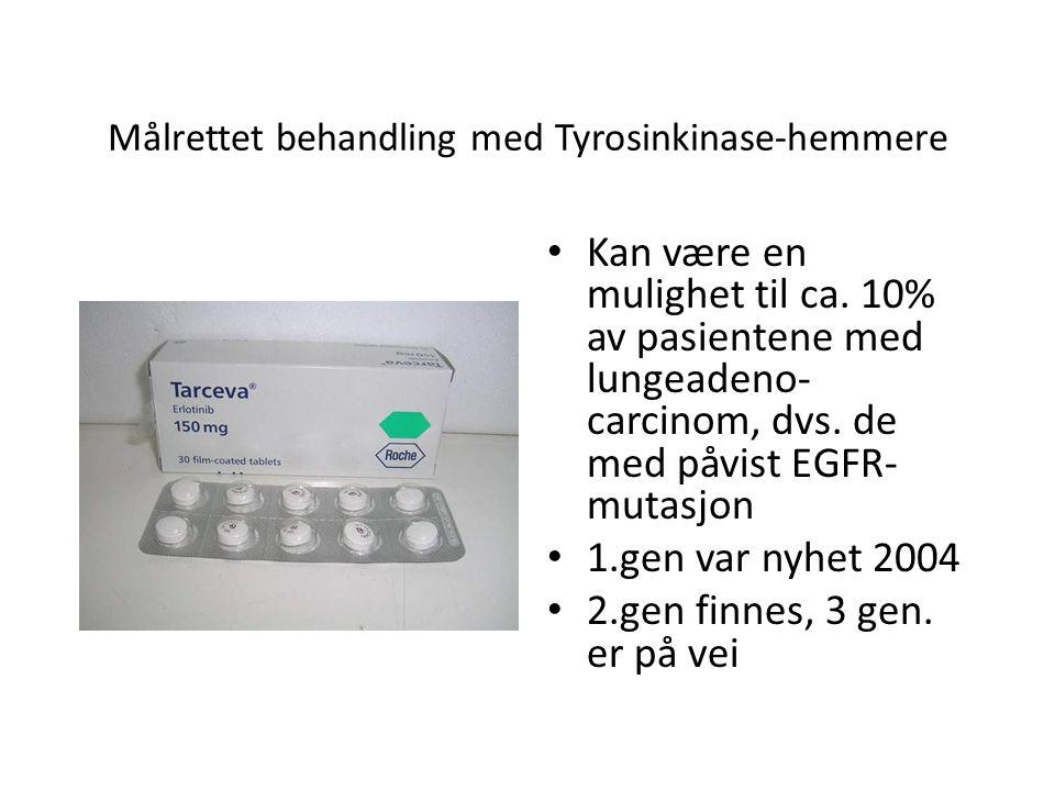 Målrettet behandling med Tyrosinkinase-hemmere