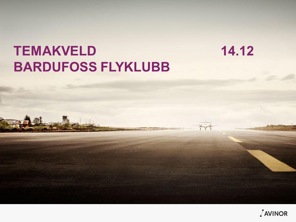 TEMAKVELD 14.12 BARDUFOSS FLYKLUBB