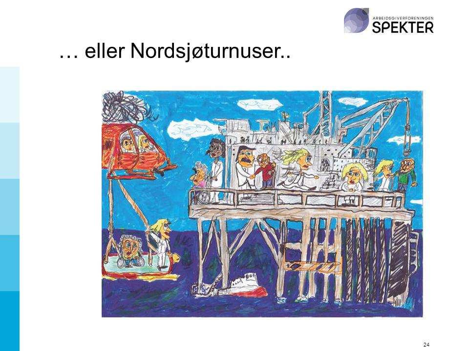 … eller Nordsjøturnuser..