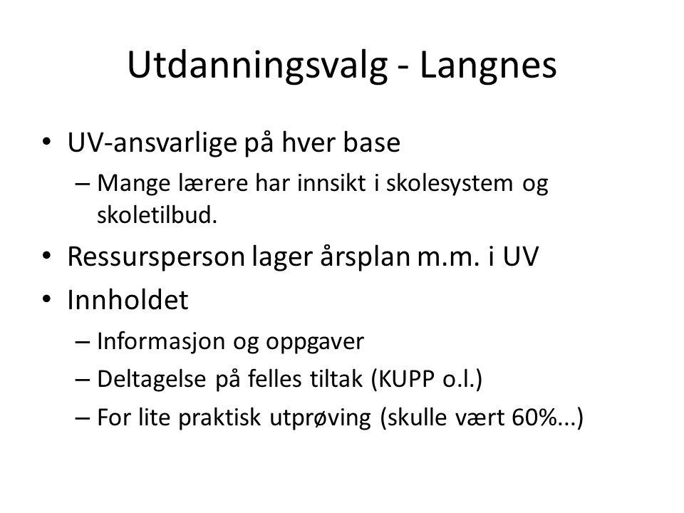 Utdanningsvalg - Langnes