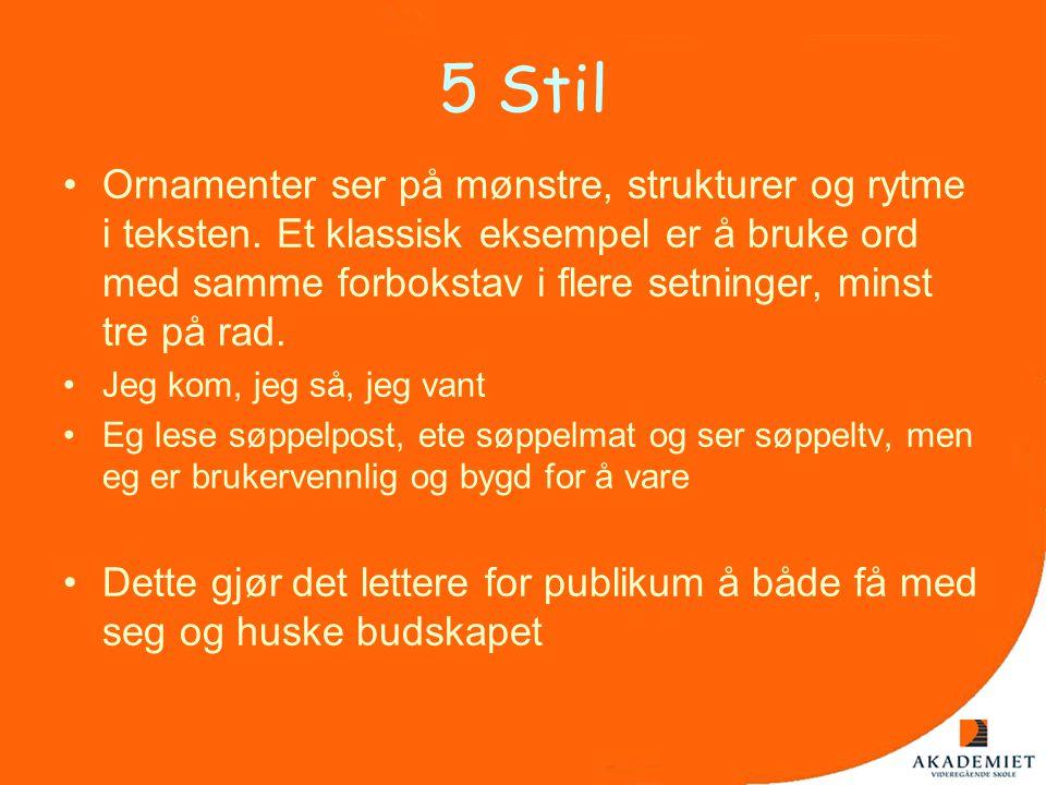 5 Stil