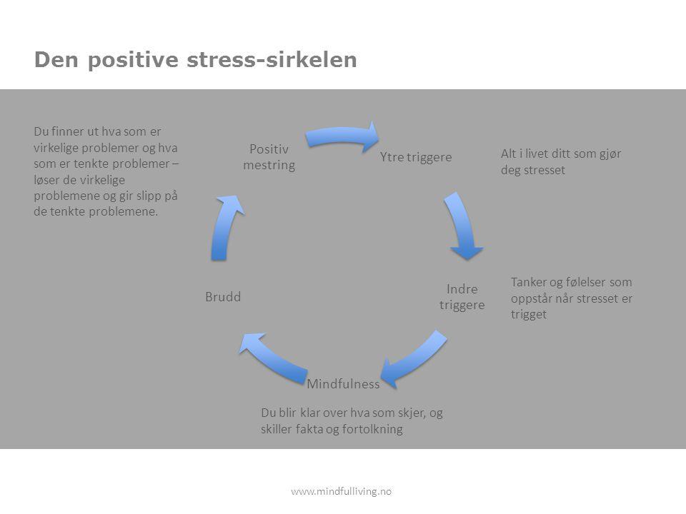Den positive stress-sirkelen