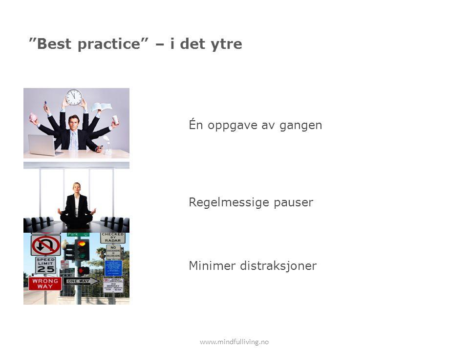 Best practice – i det ytre