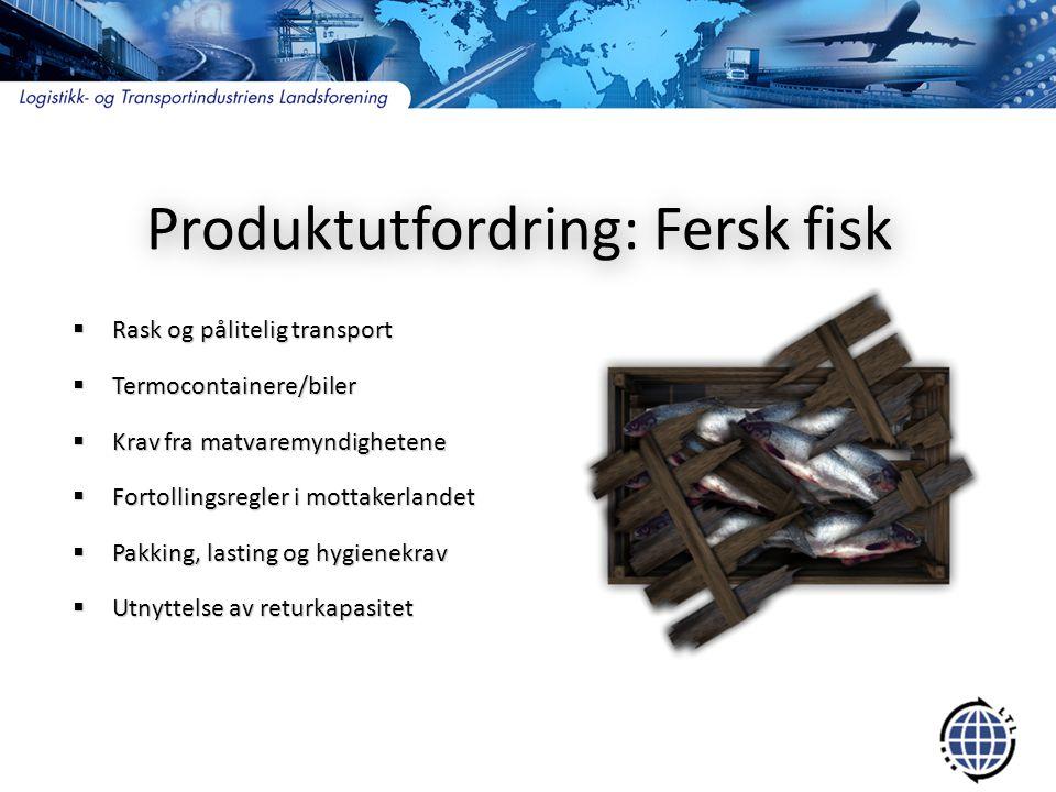 Produktutfordring: Fersk fisk