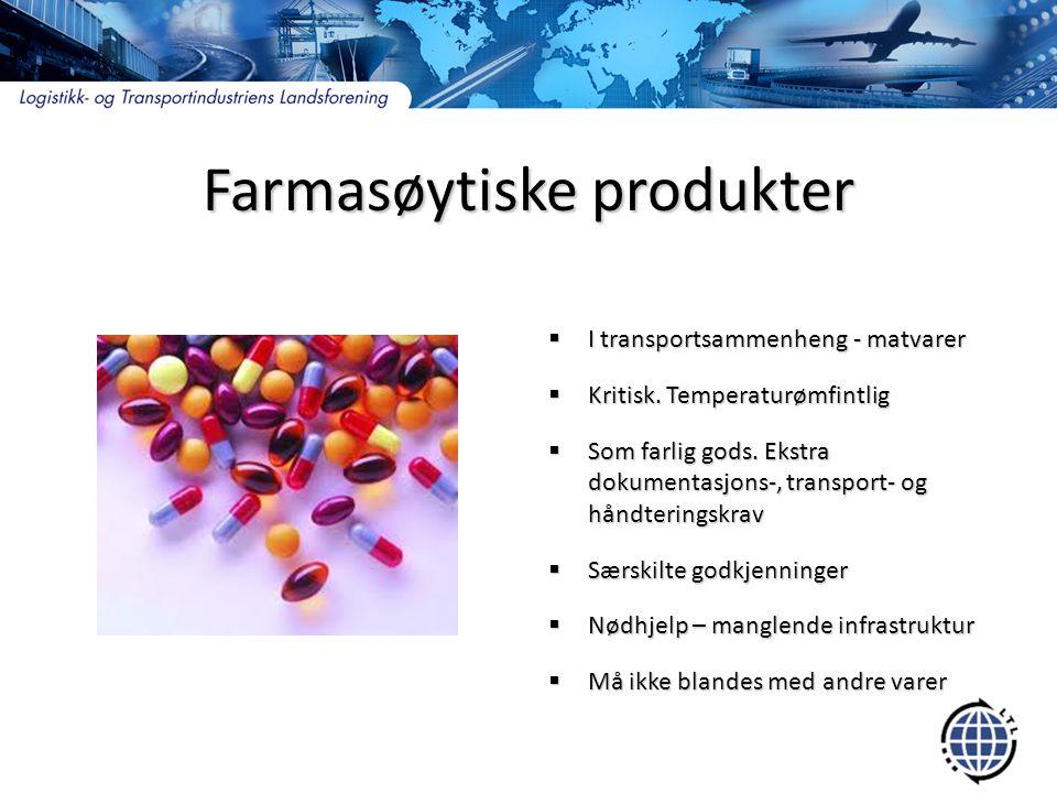Farmasøytiske produkter