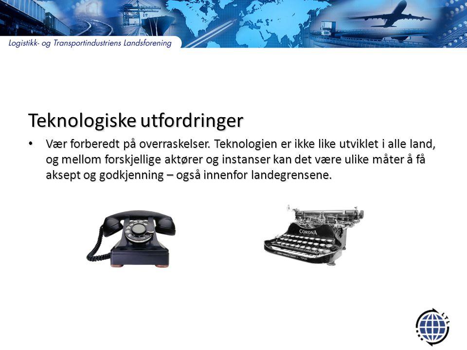 Teknologiske utfordringer