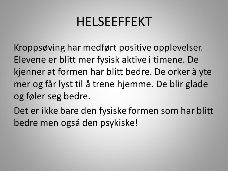 HELSEEFFEKT