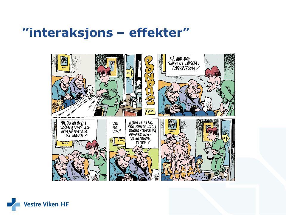 interaksjons – effekter