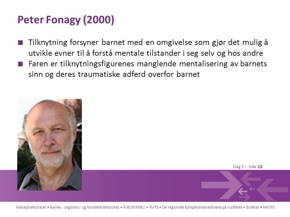 Peter Fonagy (2000)