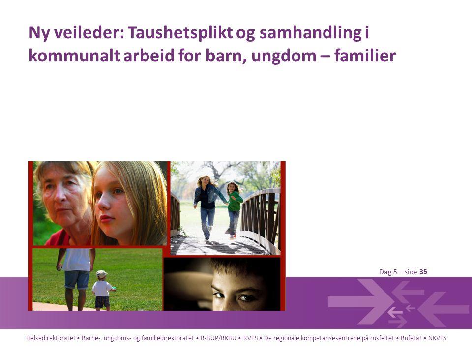 Ny veileder: Taushetsplikt og samhandling i kommunalt arbeid for barn, ungdom – familier
