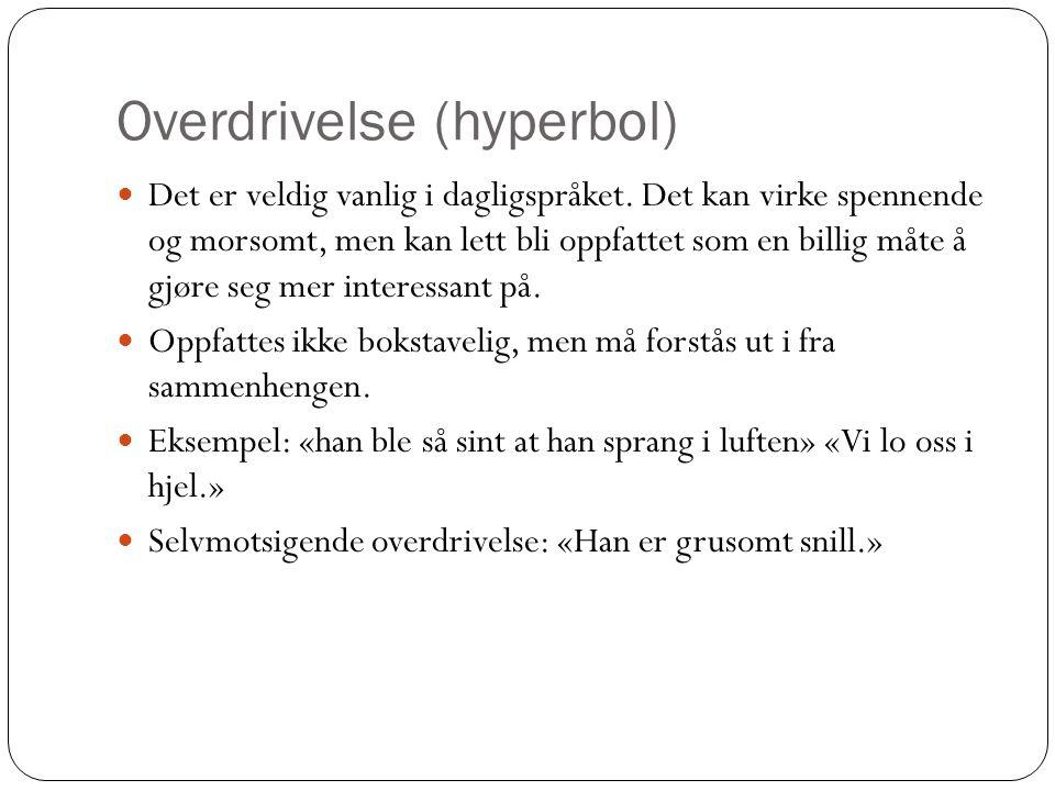 Overdrivelse (hyperbol)
