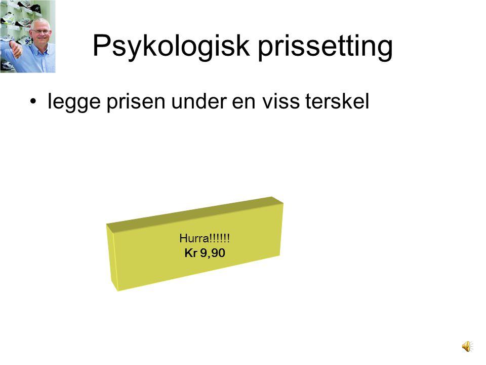 Psykologisk prissetting
