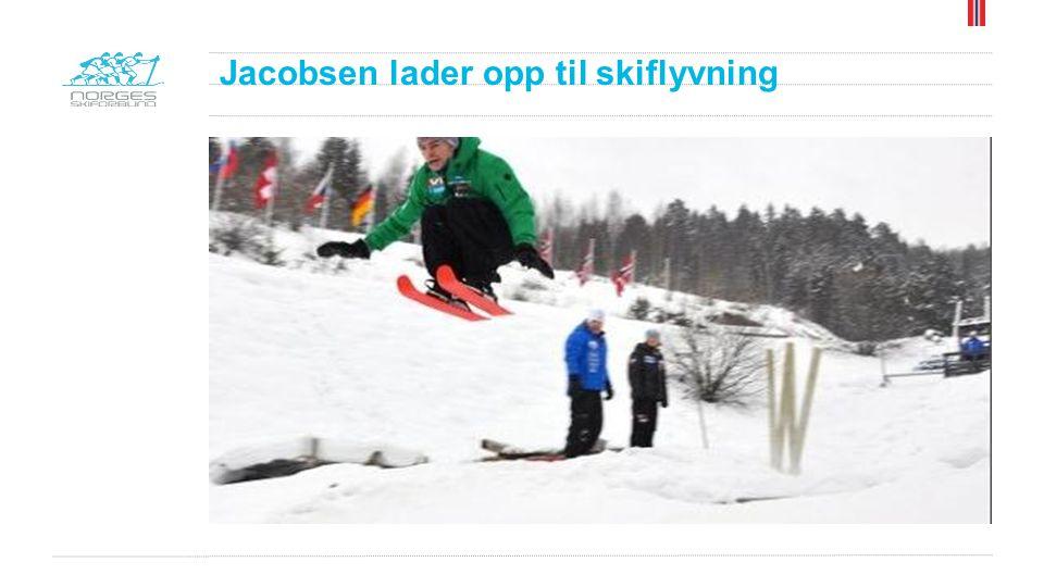 Jacobsen lader opp til skiflyvning