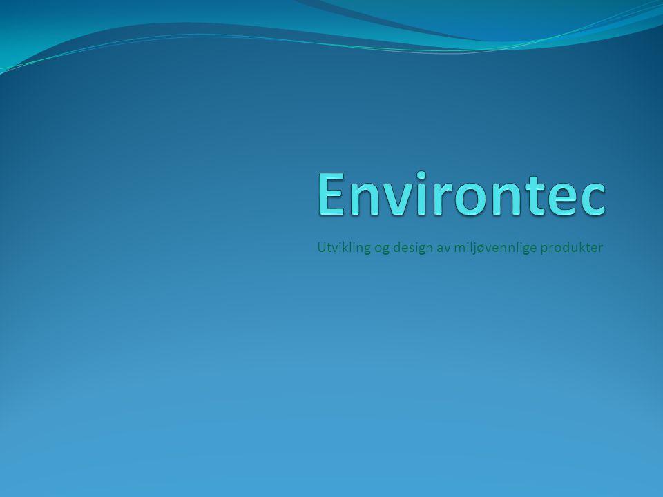 Utvikling og design av miljøvennlige produkter