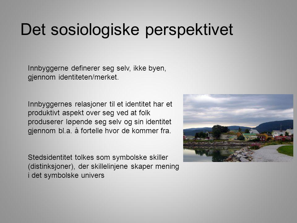 Det sosiologiske perspektivet