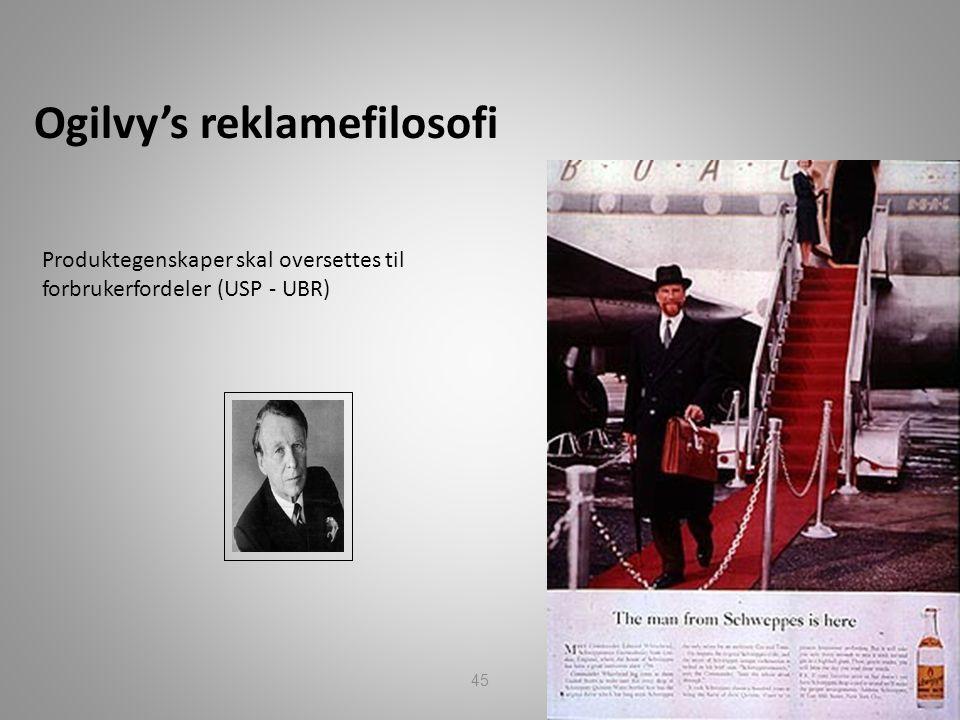 Ogilvy's reklamefilosofi