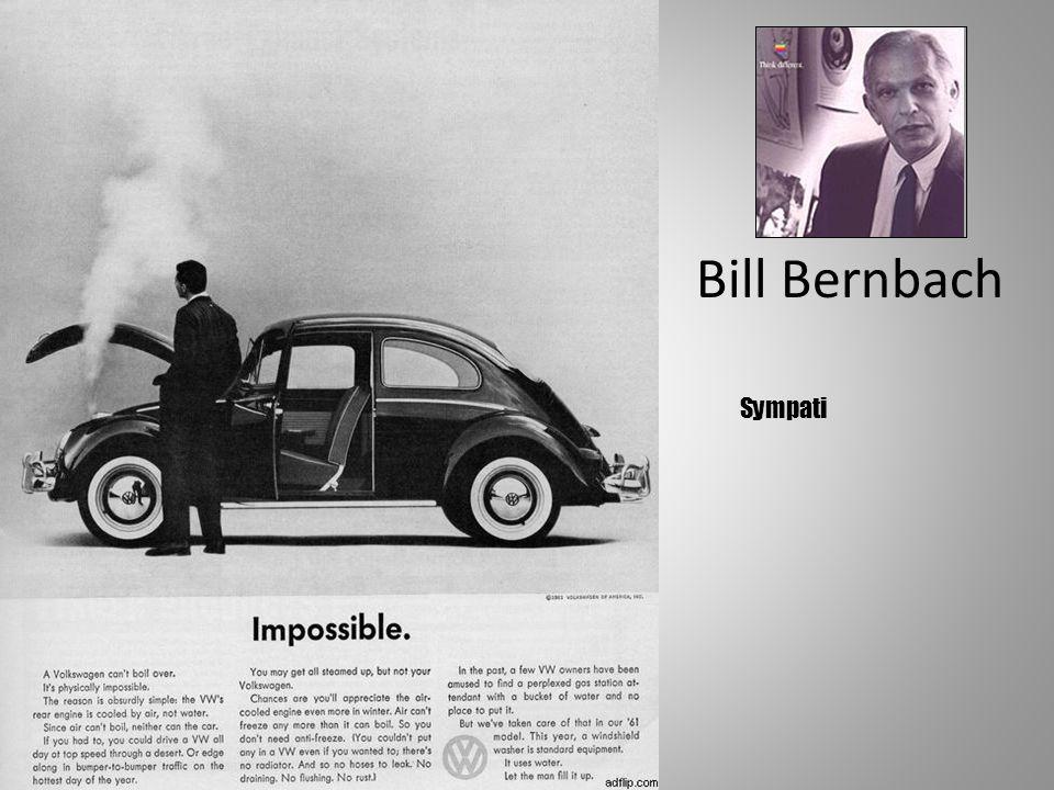 Bill Bernbach Sympati Presentasjon av Synergi Rf
