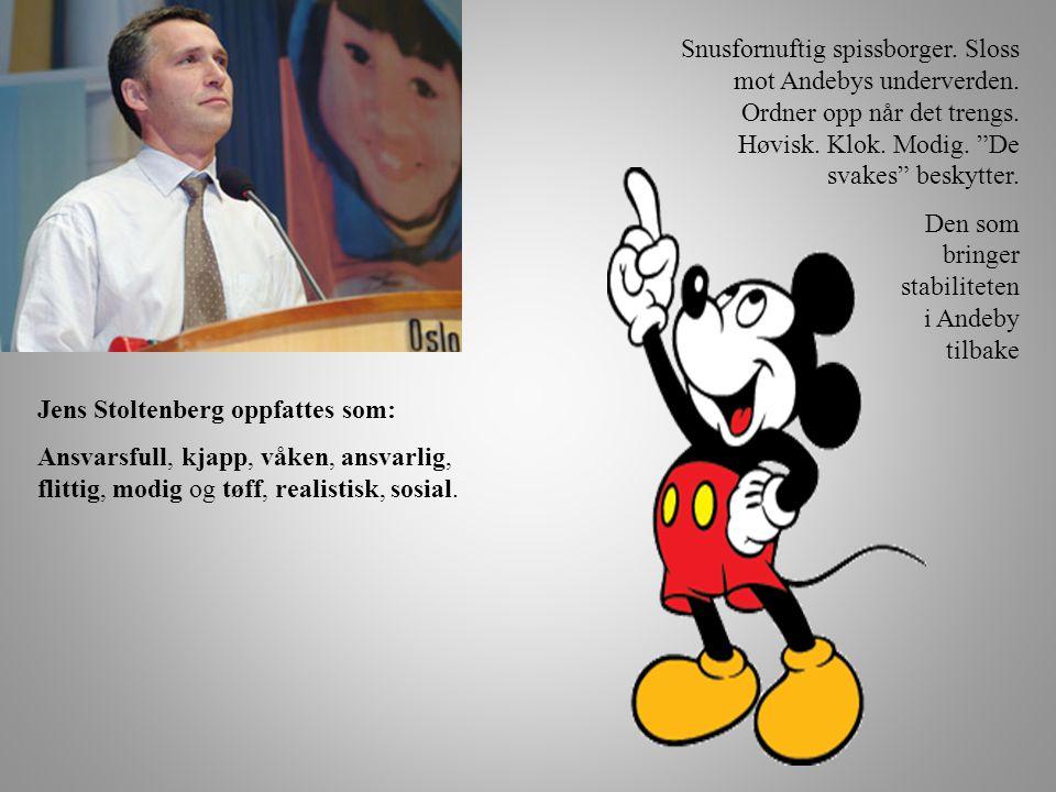 Jens Stoltenberg oppfattes som: