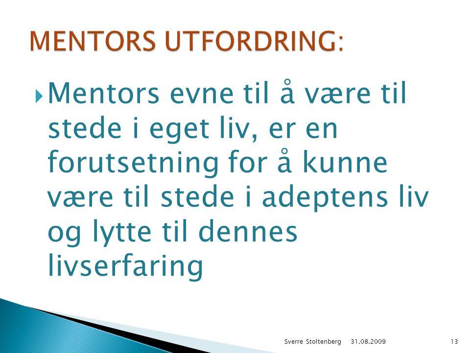 MENTORS UTFORDRING: