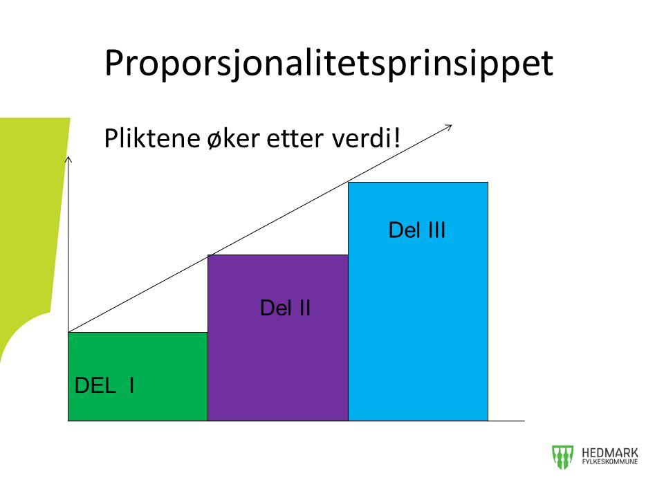 Proporsjonalitetsprinsippet