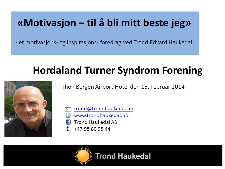 Hordaland Turner Syndrom Forening