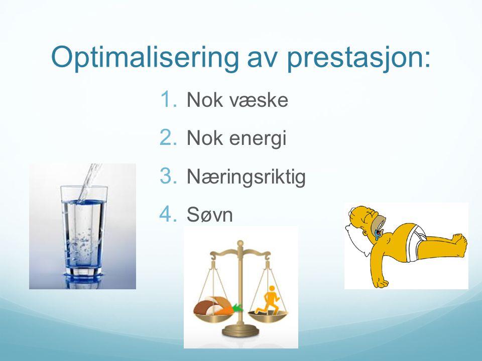 Optimalisering av prestasjon:
