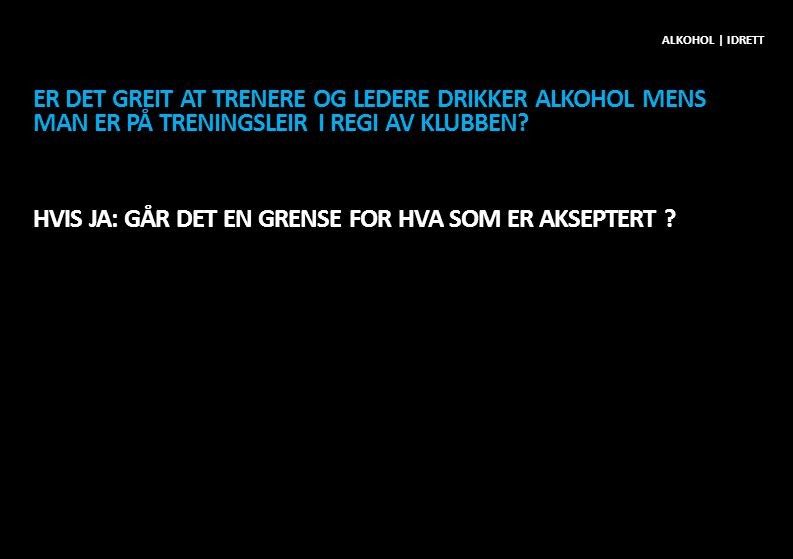Alkohol | idrett