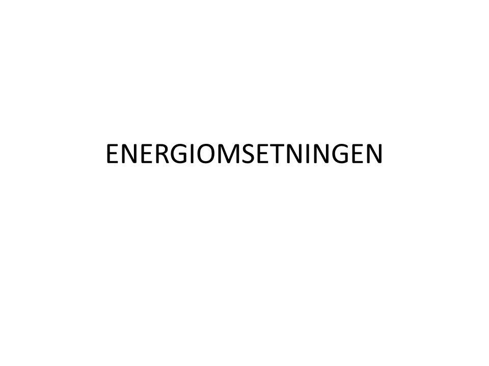 ENERGIOMSETNINGEN
