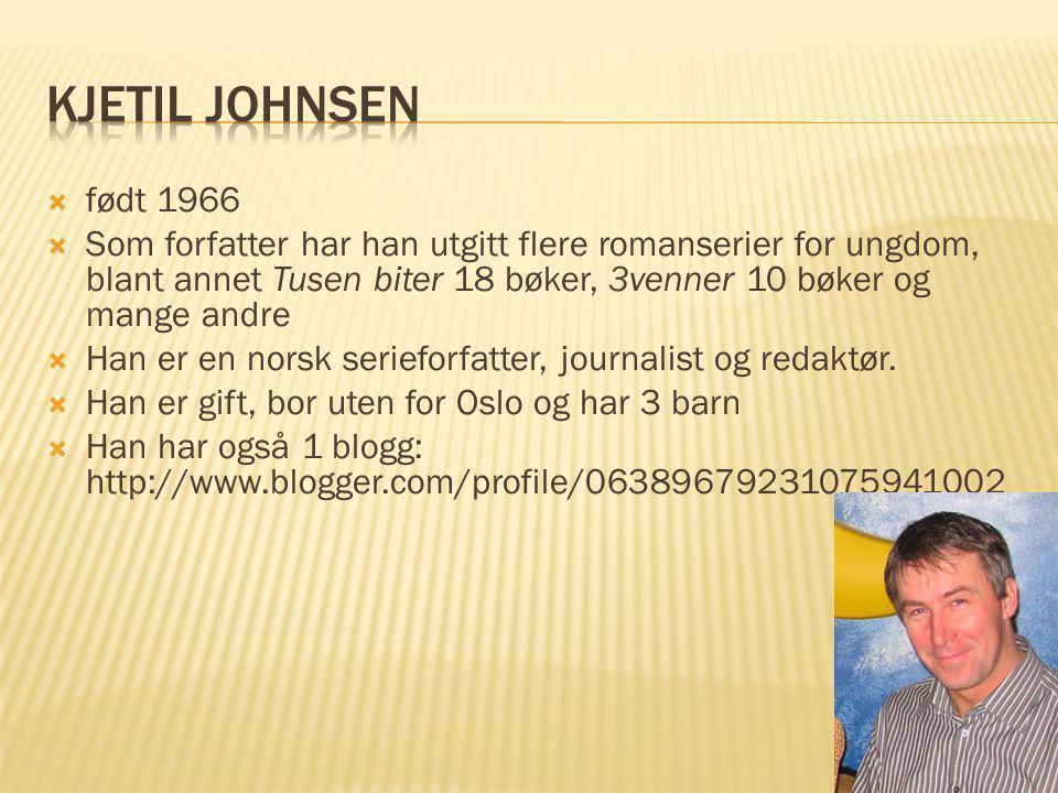 Kjetil Johnsen født 1966.