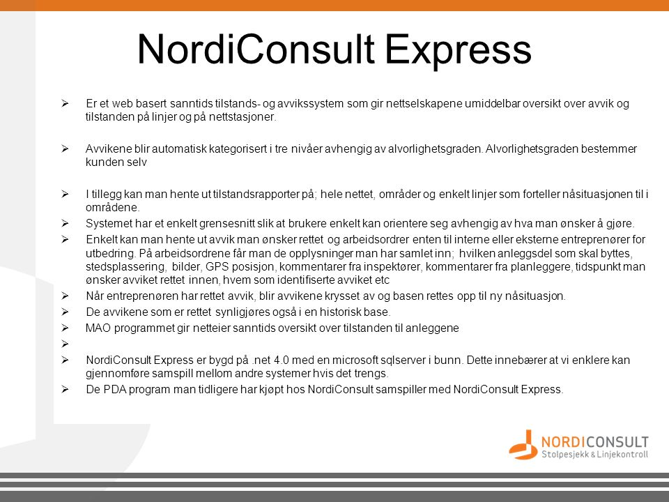 NordiConsult Express