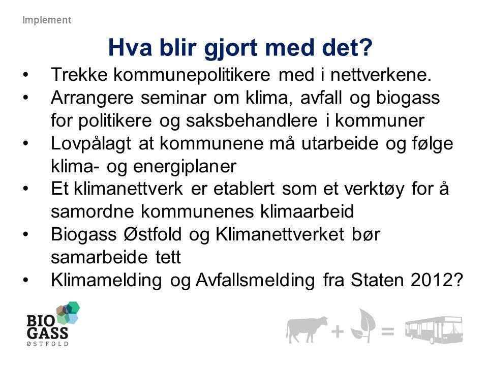 Hva blir gjort med det Trekke kommunepolitikere med i nettverkene.