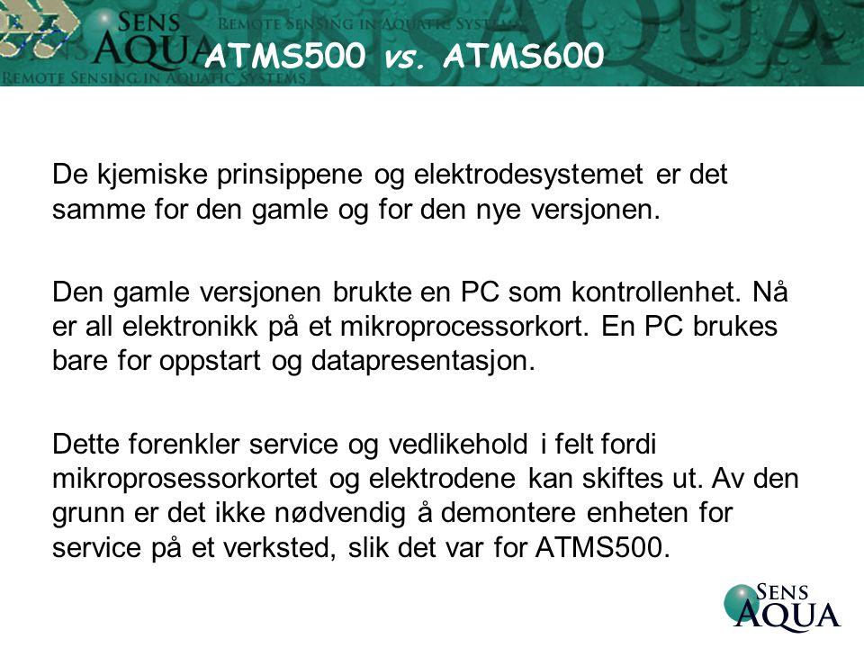 ATMS500 vs. ATMS600
