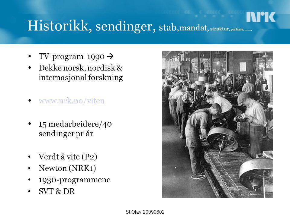 Historikk, sendinger, stab,mandat, struktur, partnere, Heia Rosenborg!