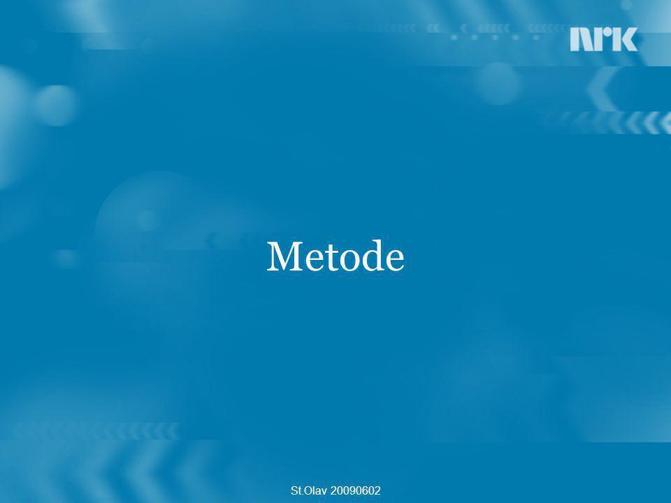Metode St.Olav 20090602