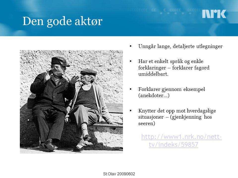 Den gode aktør http://www1.nrk.no/nett-tv/indeks/59857