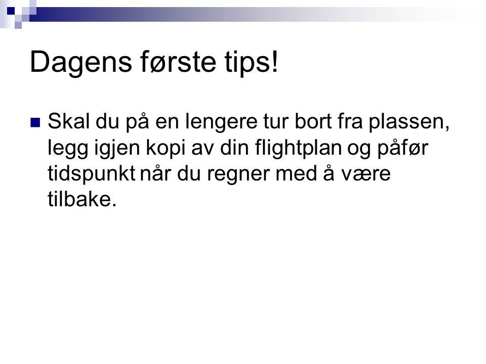 Dagens første tips!