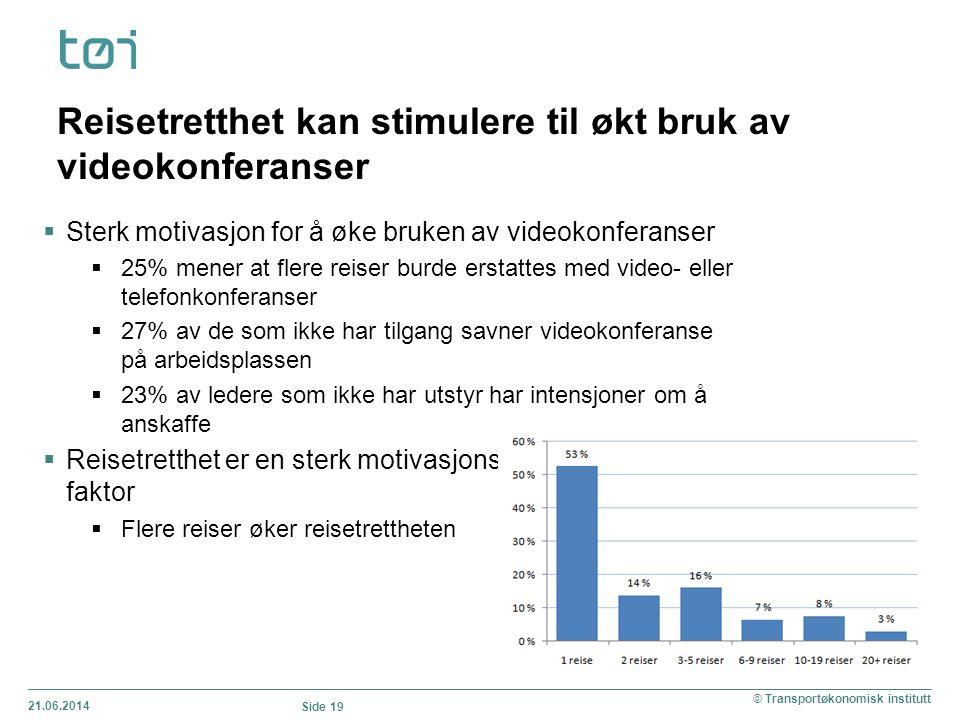Reisetretthet kan stimulere til økt bruk av videokonferanser