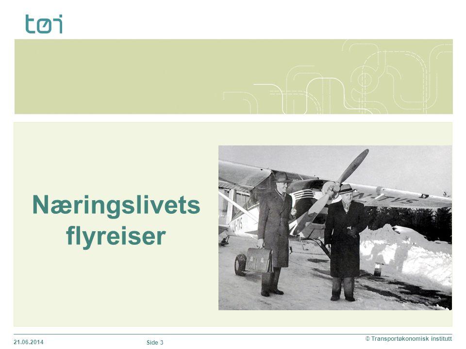 Næringslivets flyreiser