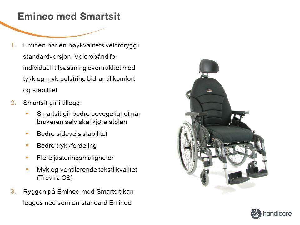 Eligo 2 med Smartsit Hvorfor har Eligo 2 Smartsit rygg som standard