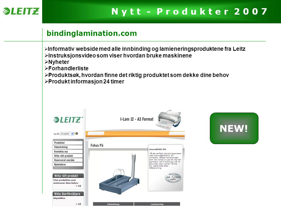 NEW! bindinglamination.com