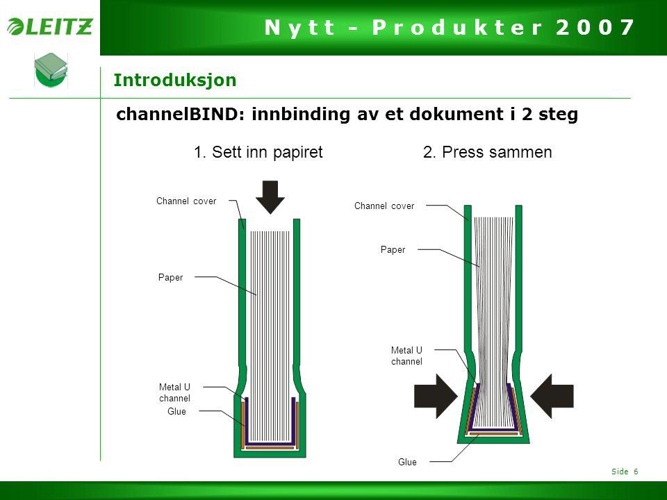 channelBIND: innbinding av et dokument i 2 steg