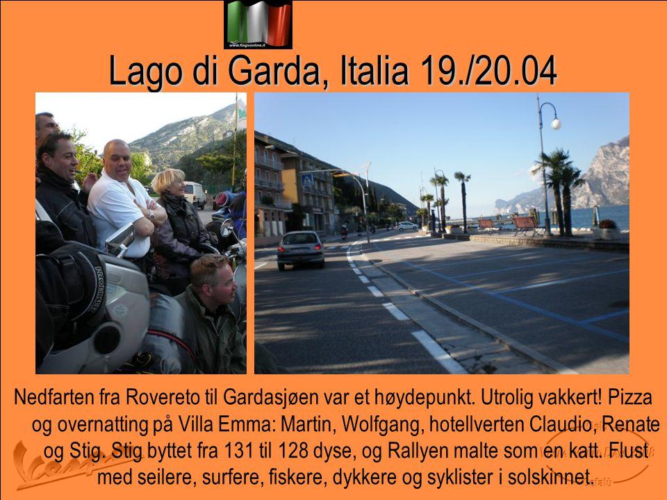 Lago di Garda, Italia 19./20.04